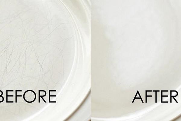 Πως να αφαιρέσετε γρατζουνιές από τον νιπτήρα και την τουαλέτα
